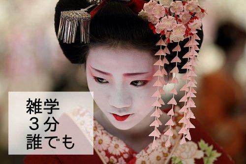 外国人に胸を張って伝えられますか?舞妓さんのこと・お仕事・給与について