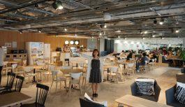 社内にイケてるカフェが!新オフィスに移転したシーエー・モバイルに行ってきた!